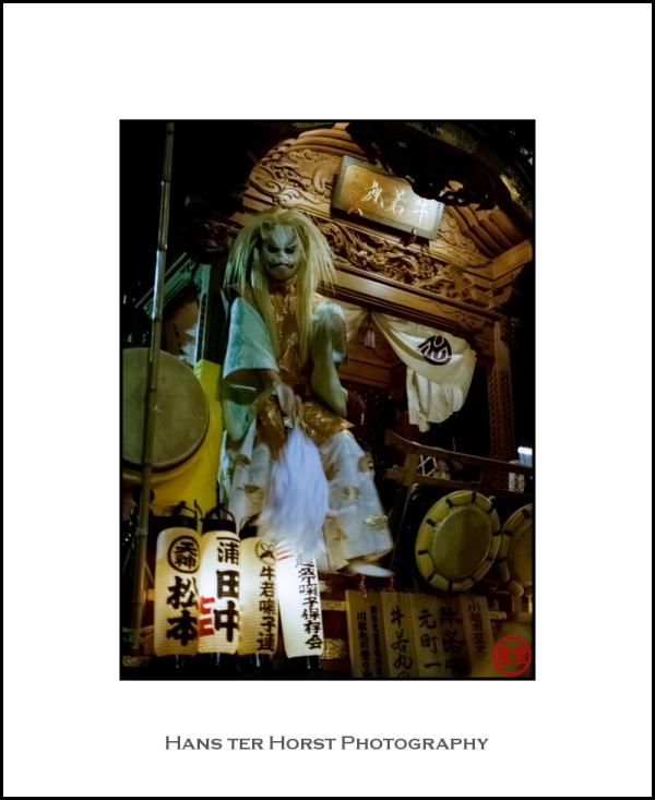 Kawagoe Festival, the white fox dance