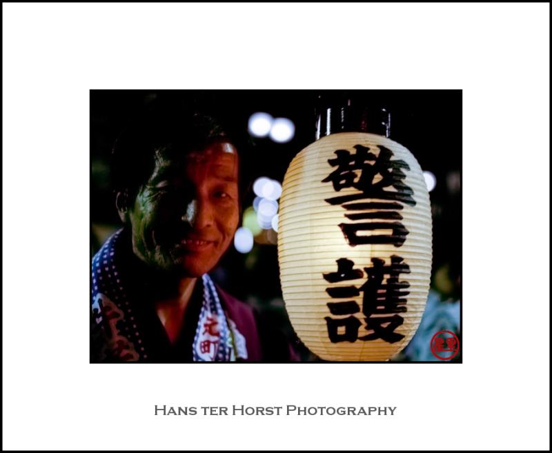 Kawagoe Festival, happy to pose