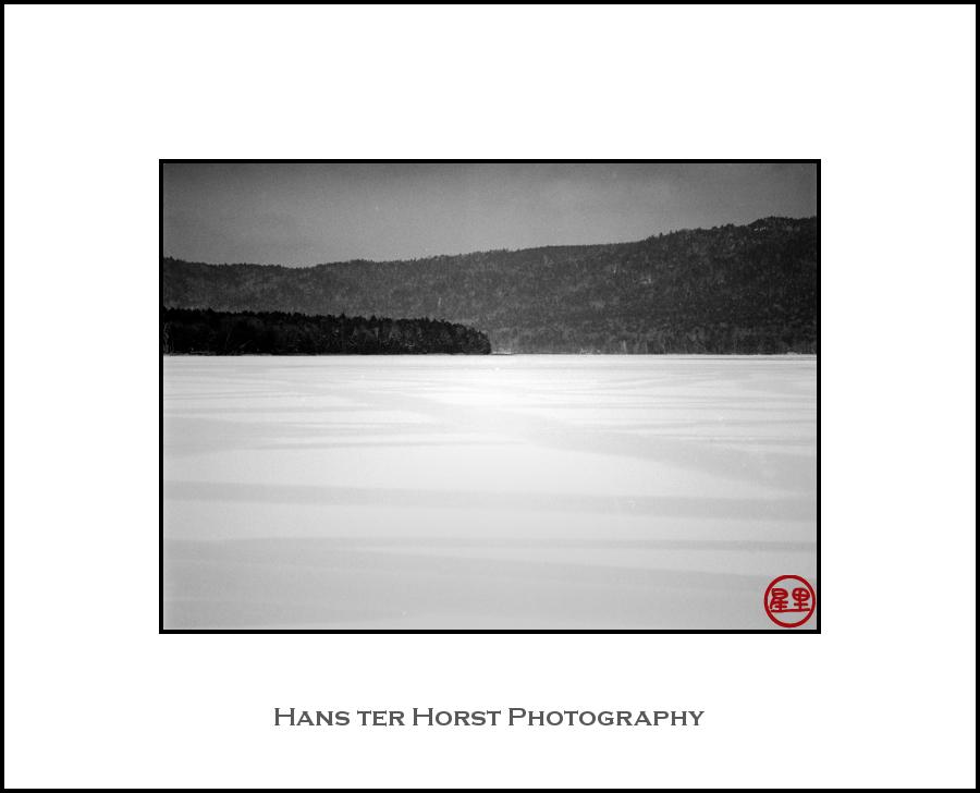 Shades of grey: Lake Akan