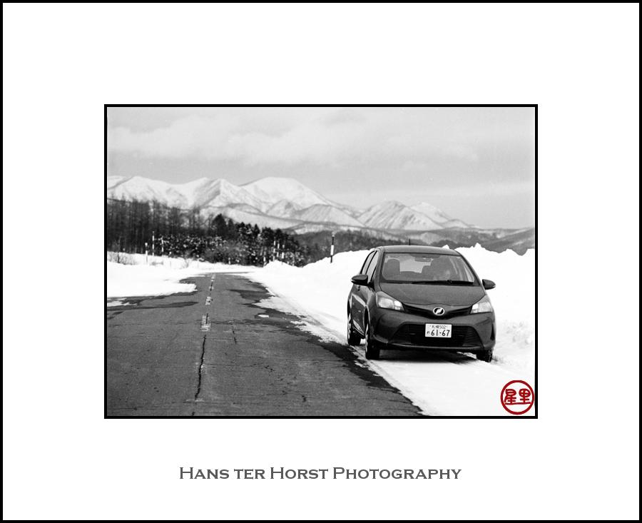 Driving around Hokkaido