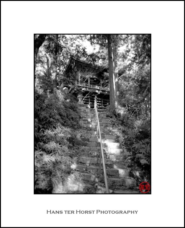 Iwaidou: the hidden Kannon Hall of Temple 26