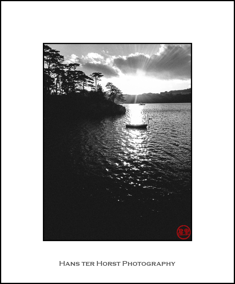 Matsushima, sunset