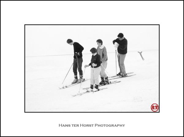 First ski class, a long time ago
