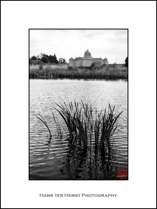 Lake and Château de Lavaux-Sainte-Anne