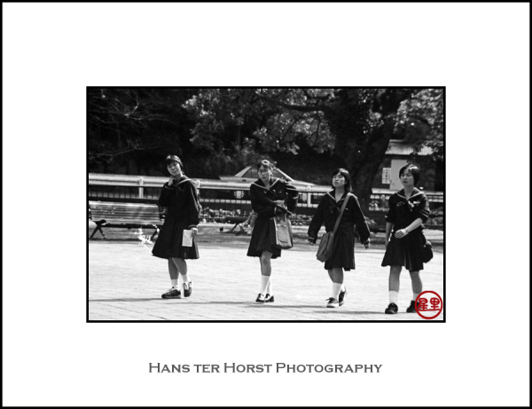 Nagasaki schoolgirls