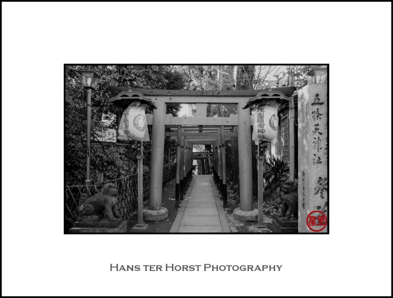 Shrine in Ueno park
