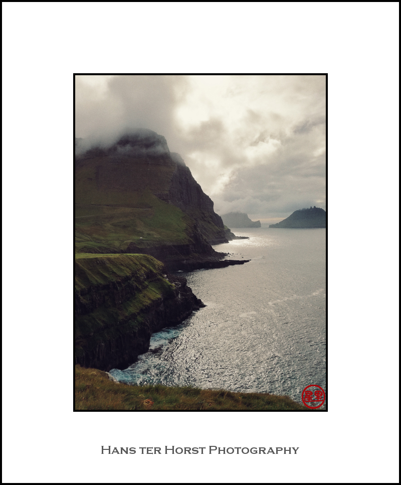 Faroe: view from Gasadalur