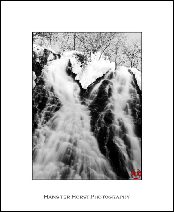 Waterfall on the Shiretoko peninsula
