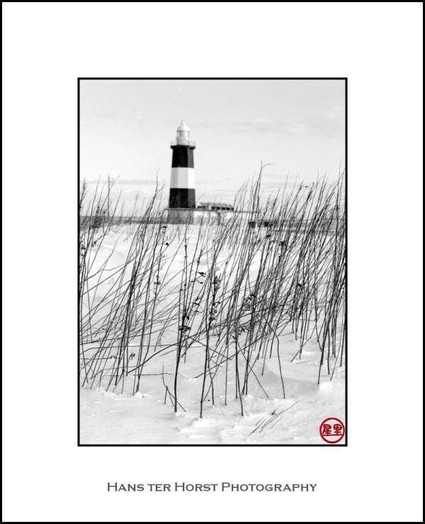 Lighthouse on Cape Notoro, Hokkaido