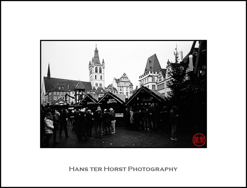 Christmas market in Trier