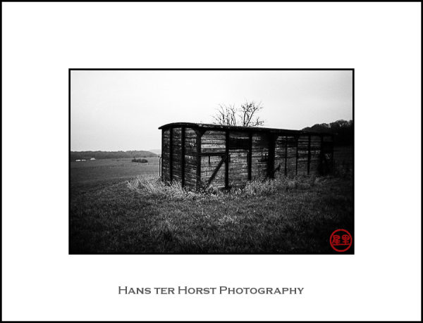 Shed in the fields