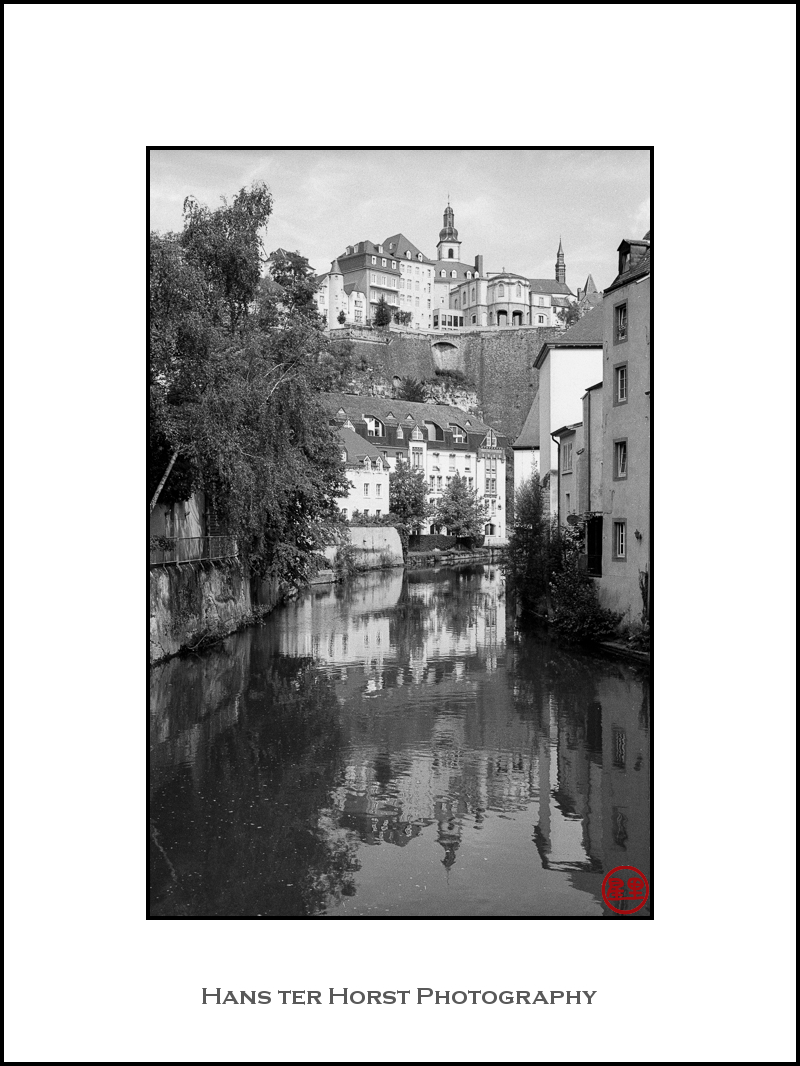 The heart of Luxembourg City