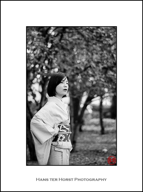 Hanami in Yoyogi Park