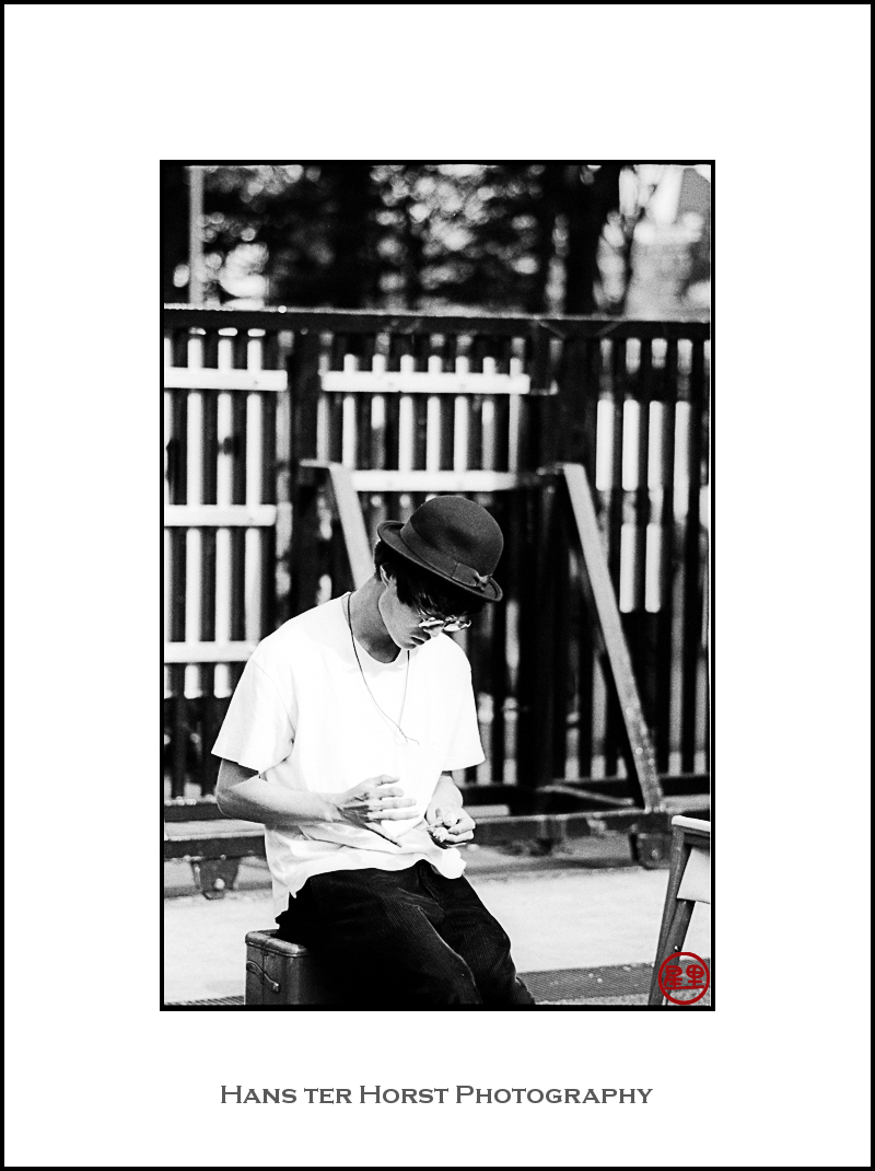 Magician in Yoyogi Park