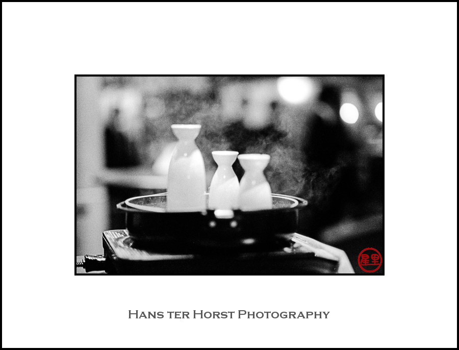 Hot sake in Sendai
