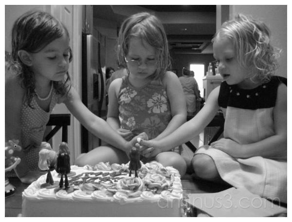 Girls..(birthday cake)