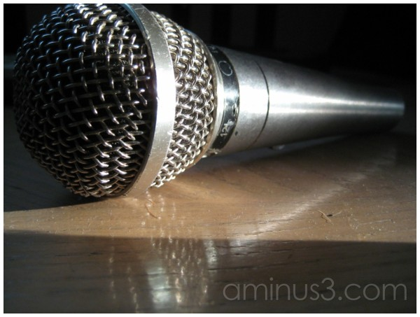 Billy's microphone