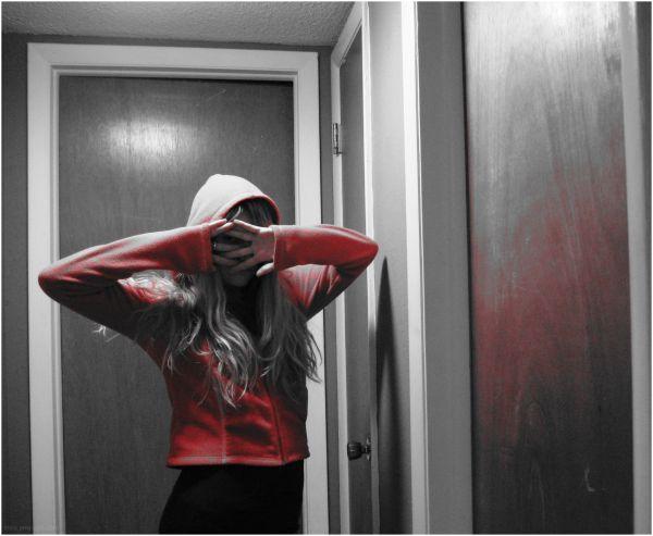Hallportrait a'la hoodie.