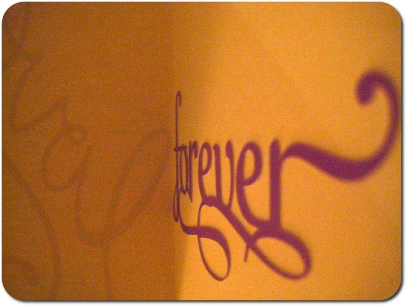 forever, love.