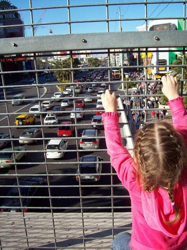 The Las Vegas Strip thru the eyes of a 3-year-old