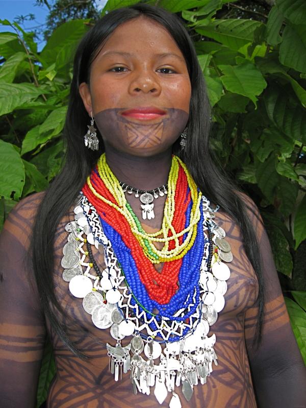 Embera girl