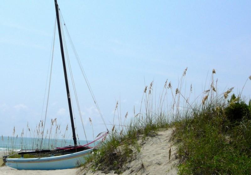 Waiting to sail