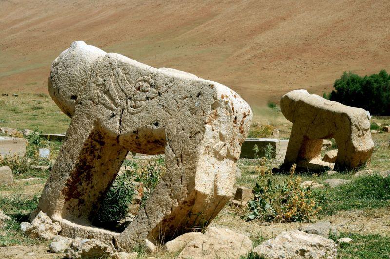 Shir-e-Sangi (Stone lion)