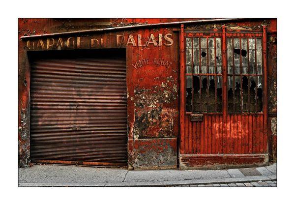 Rouille,Lyon rue de la bombarde