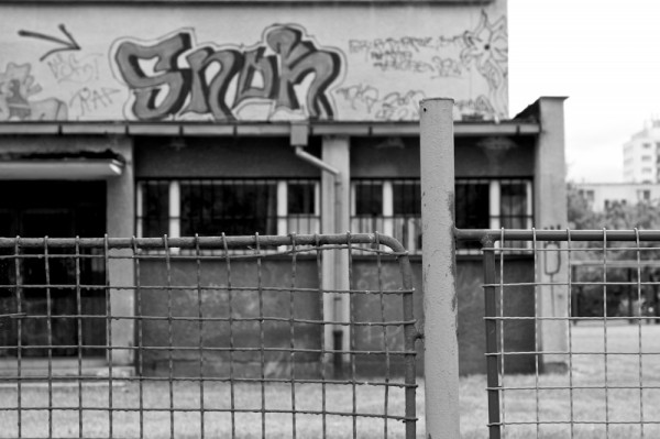 A primary school near my building.