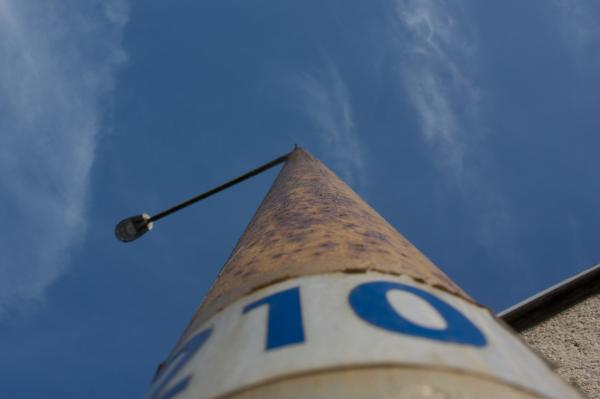 A streetlight near my building.