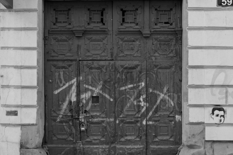 A door in Krakow.