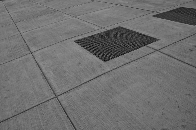 An accidental shot of the sidewalk.