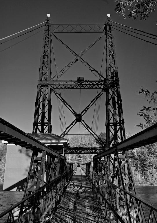 A bridge in Waterville.