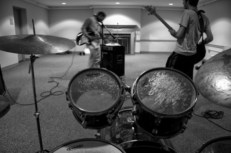 My band at practice time.