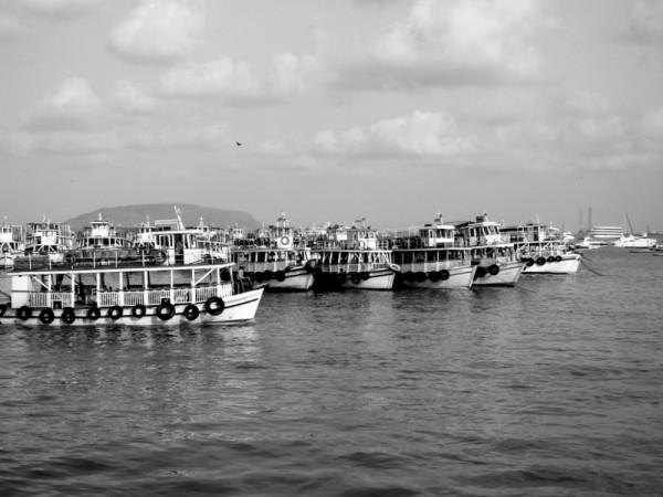 Boats at the Bombay Marina