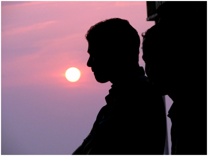 Sunset at Baga, Goa