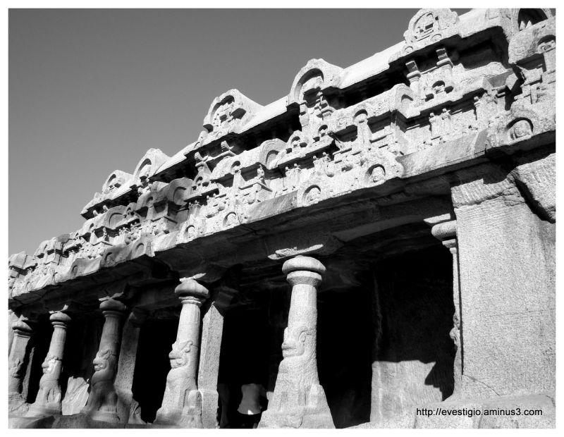 Bhima's Ratha at Mahabalipuram, Tamil Nadu