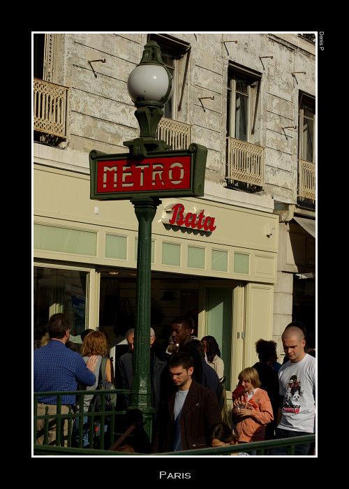 Station de Métro - Hôtel de Ville