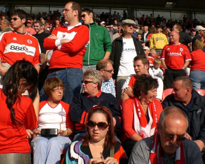 Boro Fans Pre-Match
