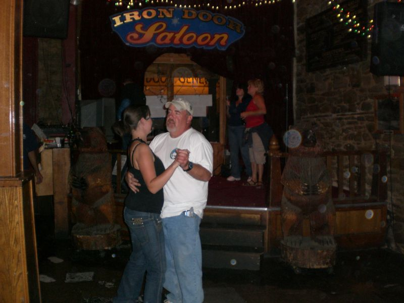 Dancing in the Saloon