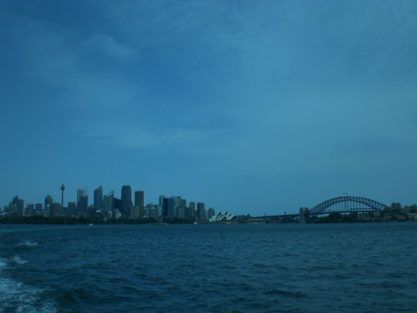 Sydney from a Ferry