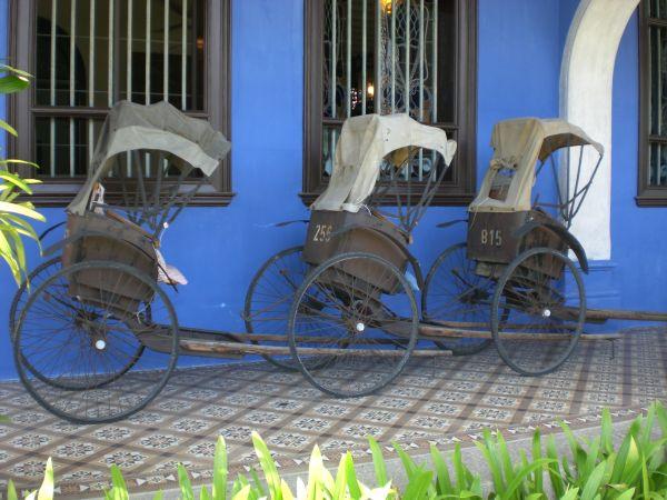 Three Rickshaws