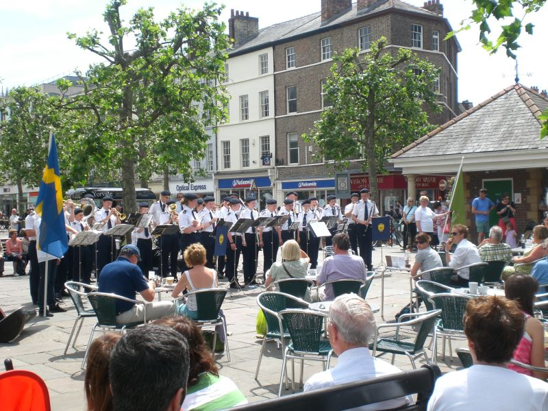 Brass Band & Audience