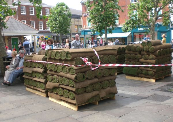 Turf in the Town