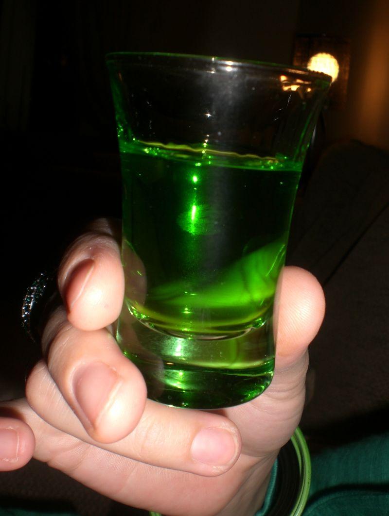 A Drop o' the Green Stuff