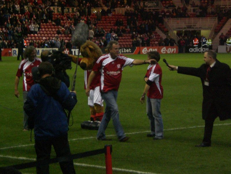 Top Gear at Middlesbrough FC
