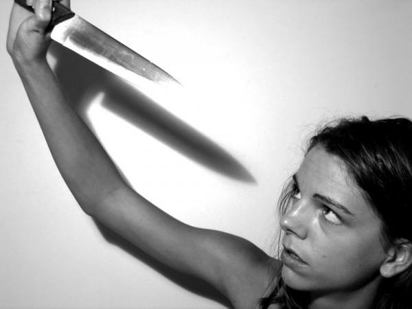 Autoportrait au couteau