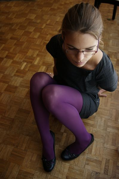 Autoportrait aux collants II