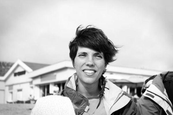 Portrait à la grande plage - Jessica
