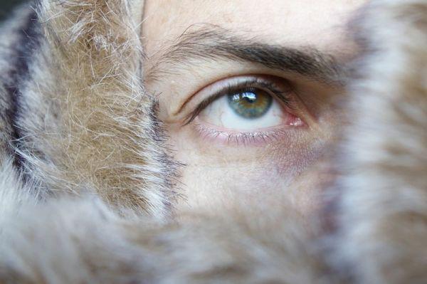Portrait à l'oeil